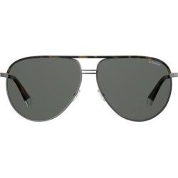 61mm Polarized Aviator Sunglasses - Havana/ Grey Polarized - Gray - Polaroid Sunglasses found on Bargain Bro India from lyst.com for $98.00