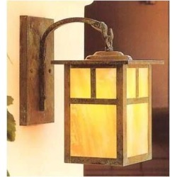 Arroyo Craftsman Mission 16 Inch Tall 1 Light Outdoor Wall Light - MB-10E-RM-BZ found on Bargain Bro from Capitol Lighting for USD $364.80