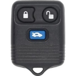 Mazda 626 OEM 3 Button Key Fob-1 found on Bargain Bro from Refurbished Keyless Entry Remote for USD $32.40