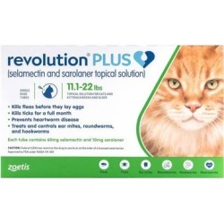 Revolution Plus For Large Cats 11-24lbs (Green) 12 Pack found on Bargain Bro Philippines from Canadapetcare.com for $171.20
