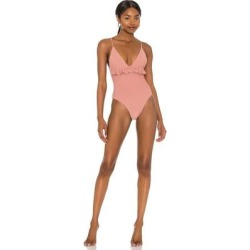 Hazel One Piece - Orange - Tularosa Beachwear found on MODAPINS from lyst.com for USD $128.00