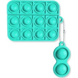 Shou Headphone Accessories Mint - Mint Green Stress-Relief Silicone Airpods Case found on Bargain Bro Philippines from zulily.com for $8.99