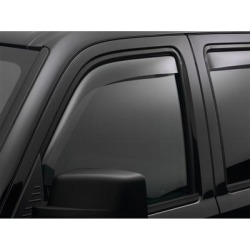 WeatherTech Side Window Vent, Fits 2006-2013 Audi A3, Material Type Molded Plastic, Tint Color Light, Model 70369 found on Bargain Bro Philippines from northerntool.com for $64.95