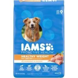 Iams ProActive Health Adult Healthy Weight Dry Dog Food, 15-lb bag