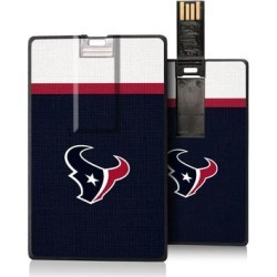 Houston Texans Striped Credit Card USB Drive found on Bargain Bro from Fanatics for USD $18.99