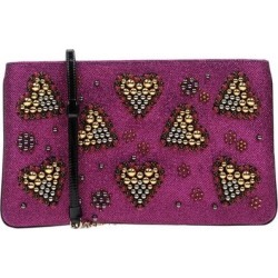 Handbag - Purple - Christian Louboutin Clutches found on Bargain Bro from lyst.com for USD $638.40
