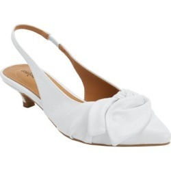 Women's The Tia Slingback by Comfortview in White (Size 10 1/2 M) found on Bargain Bro Philippines from Ellos for $55.99