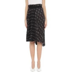 3/4 Length Skirt - Black - Balenciaga Skirts found on Bargain Bro Philippines from lyst.com for $822.00