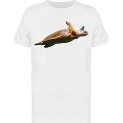 Sea Turtle With Extended Lins Tee Men's -Image by Shutterstock (3XL), White