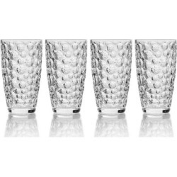 Mikasa Eau De Vie 11.5 oz. Highball (Set of 4) found on Bargain Bro India from Overstock for $26.49