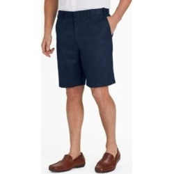 Men's Adjust-A-Band Relaxed-Fit Microfiber Shorts, Navy Blue 42 found on Bargain Bro India from Blair.com for $19.99