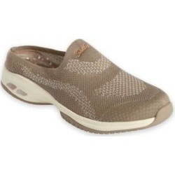 Women's Skechers Commute Time Knit Slip-Ons, Taupe Tan 9.5 M Medium found on Bargain Bro from Blair.com for USD $45.59