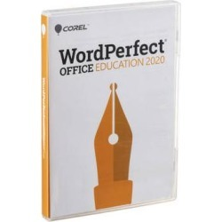 Corel WordPerfect Office Education 2020 (PC, Retail Box) WP2020PREFDVDAAM found on Bargain Bro Philippines from B&H Photo Video for $79.99