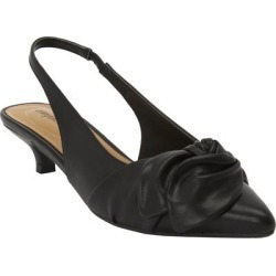 Extra Wide Width Women's The Tia Slingback by Comfortview in Black (Size 7 WW) found on Bargain Bro Philippines from Ellos for $50.99