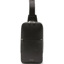 Embossed-leather Cross-body Bag - Black - Paul Smith Messenger found on Bargain Bro from lyst.com for USD $376.20