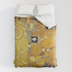 Comforters | The Embrace - Gustav Klimt by Fineartpaintings - Queen: 88
