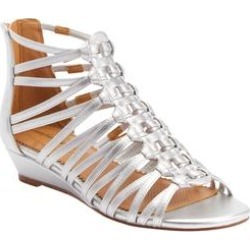 Women's The Helen Sandal by Comfortview in Silver (Size 9 M) found on Bargain Bro Philippines from Ellos for $55.99