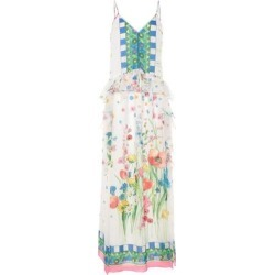 Long Dress - White - Blugirl Blumarine Dresses found on Bargain Bro from lyst.com for USD $364.80