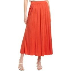 Mara Hoffman Antonia Midi Skirt (L), Women's, Red found on MODAPINS from Overstock for USD $87.99