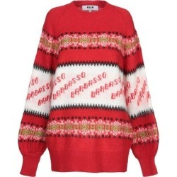 Jumper - Red - MSGM Knitwear found on MODAPINS from lyst.com for USD $202.00