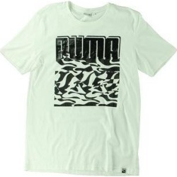Puma Mens T-Shirt Running Fitness (Puma White - XL), Men's(cotton) found on Bargain Bro from Overstock for USD $9.95