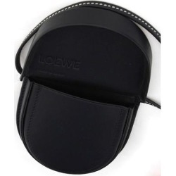 Mini Heel Crossbody Bag - Black - Loewe Shoulder Bags found on MODAPINS from lyst.com for USD $271.00