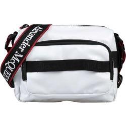 Cross-body Bag - White - Alexander McQueen Messenger found on Bargain Bro from lyst.com for USD $322.24
