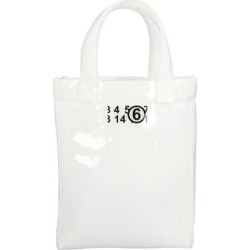 Foam Mini Tote Bag - White - MM6 by Maison Martin Margiela Totes found on Bargain Bro from lyst.com for USD $245.48