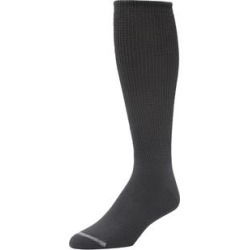 Diabetic Crew Socks with Extra Deep Footbed by KingSize in Heather Charcoal (Size 2XL) found on Bargain Bro Philippines from Brylane Home for $14.99