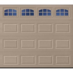 Lincoln 2000 Short Panel Garage Door - Sandtone 9 x 8 Cascade Window found on Bargain Bro from samsclub.com for USD $829.92