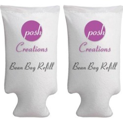 Posh Creations Bean Bag Refill, Premium Cool White EPS Refill found on Bargain Bro from Overstock for USD $40.65