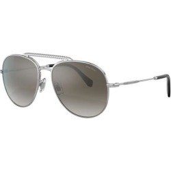 Mu 53vs - Metallic - Miu Miu Sunglasses found on Bargain Bro India from lyst.com for $418.00