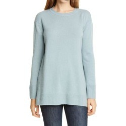 Cashmere Tunic Sweater - Blue - Nordstrom Knitwear found on Bargain Bro from lyst.com for USD $83.60