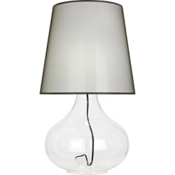 June Clear Glass Table Lamp with Black Organza Fabric Shade found on Bargain Bro from LAMPS PLUS for USD $421.42