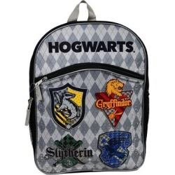 UPD Backpacks - Harry Potter Grey Hogwarts Houses Backpack found on Bargain Bro India from zulily.com for $12.99