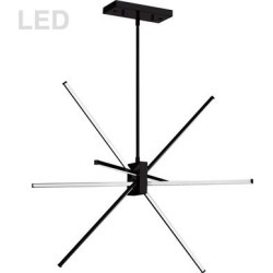 Dainolite Summit 28 Inch LED Large Pendant - SUM-34P-MB found on Bargain Bro from Capitol Lighting for USD $519.84