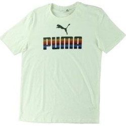 Puma Mens T-Shirt Running Fitness (Puma White - M), Men's(cotton) found on Bargain Bro from Overstock for USD $10.21