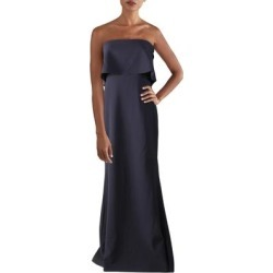 Likely Womens Evening Dress Popover Strapless - Navy found on MODAPINS from Overstock for USD $75.09