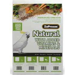 ZuPreem Classic AvianMaintenance Natural Bird Diet for Large Parrots, 20-lb bag found on Bargain Bro from petco.com for USD $38.90
