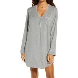 UGG Henning Ii Henley Sleep Shirt - Gray - Ugg Tops found on Bargain Bro Philippines from lyst.com for $78.00