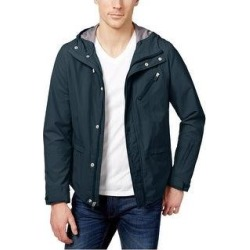 Kenneth Cole Mens Zip Jacket (Small), Men's, Green(nylon, solid) found on Bargain Bro from Overstock for USD $69.28