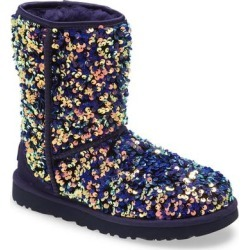 UGG Classic Stellar Sequin Boot - Blue - Ugg Boots found on Bargain Bro Philippines from lyst.com for $95.00