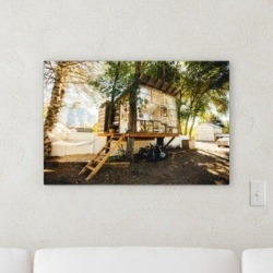 Millwood Pines 'Self Therapy' Photographic Print on Wrapped Canvas Canvas & Fabric in Brown/Green, Size 16.0 H x 20.0 W x 2.0 D in   Wayfair found on Bargain Bro Philippines from Wayfair for $116.99