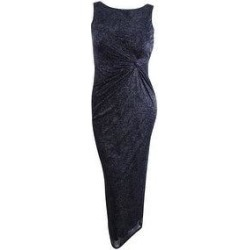 Calvin Klein Women's Lace Twist-Front Gown - Black (4) found on Bargain Bro from Overstock for USD $54.71
