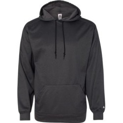 Pro Heather Hooded Sweatshirt (Carbon Heather - S), Men's, Black Grey(polyester, embroidered) found on Bargain Bro from Overstock for USD $44.35
