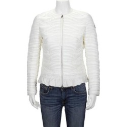 Ladies Ambre Down Quilted Nylon Leger Jacket - White - Moncler Jackets found on Bargain Bro from lyst.com for USD $570.00