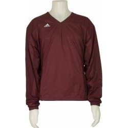 adidas Climalite Windbreaker Mens Athletic Jacket Lightweight - Red (S), Men's found on Bargain Bro India from Overstock for $23.70
