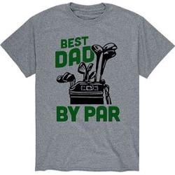 Instant Message Mens Men's Tee Shirts ATHLETIC - Athletic Heather 'Best Dad by Par' Tee - Men