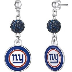 New York Giants Women's Shambala Post Earrings found on Bargain Bro from Fanatics for USD $9.11