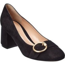 Gianvito Rossi Suede Pump (36.5), Women's, Black found on MODAPINS from Overstock for USD $615.99